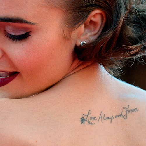248dc607f7023 Celebrity tattoos - The Whys and Wheres of celebrities and their Tattoos...  :: Company.co.uk